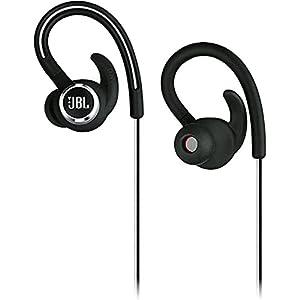 JBL Lifestyle Reflect Contour 2 Sweatproof Wireless Sport in-Ear Headphones - Black (Renewed)