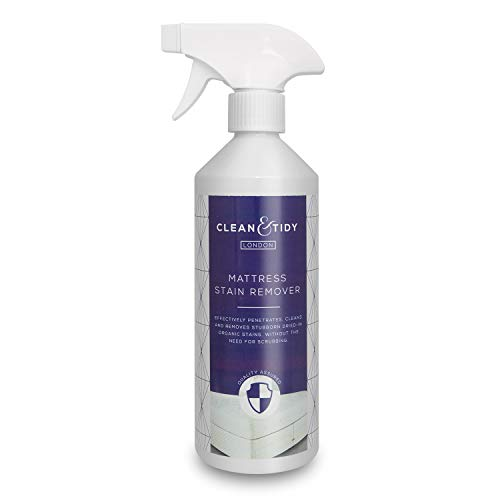 Clean & Tidy Professional Mattress Stain Remover For Blood, Vomit, Urine, Drinks, Ink And Food Based Stains, 500ml