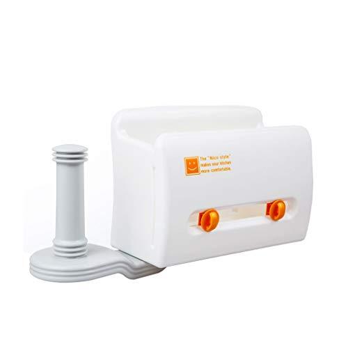 ZHANGJINYISHOP2016 Portarrollos Baño Refrigerador Giratorio Estante de Almacenamiento Adsorción Papel Toalla Toalla Envoltorio de plástico Soporte Papel Higiénico