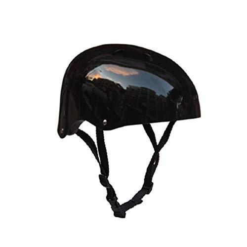 Tuzi Qiuge Helm Kletterausrüstung Schutzhelm Höhlenrettung Kinder Erwachsenenhelm Entwicklung Outdoor Wandern Skifahren und Betriebsstoffen geeignet Kopfumfang: 50-54cm, Größe: S (schwarz). QiuGe
