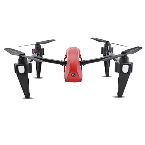 TWW GPS Drone with 1080P HD Quadcopter Auto Return Home with Follow Me Altitude Hold Headless Brushless Motor Remote Control,Red