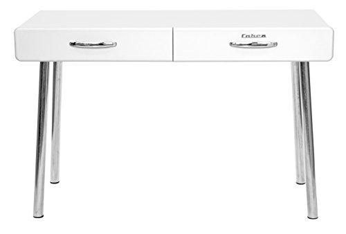 TENZO Schreibtisch, Holz, 76 x 120 x 50 cm, weiß
