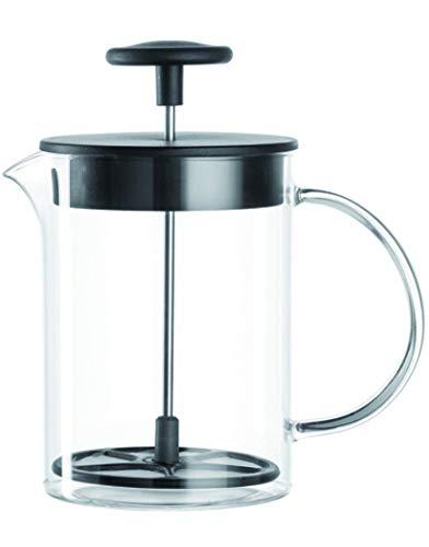 Leonardo melkopschuimer Caffè per me, 3-delige set, hittebestendig glas, 025508