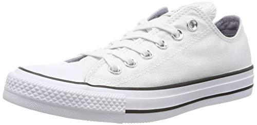 Converse 559888C Damen Ctas Ox Fitnessschuhe, Weiß (White/White/Black 102), 36.5 EU