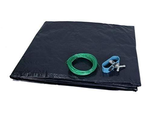 Marimex Abdeckplane für stahl oder frame pool 3,66 m Supreme, blau/schwarz, 366x366x0,1 cm, 10420010