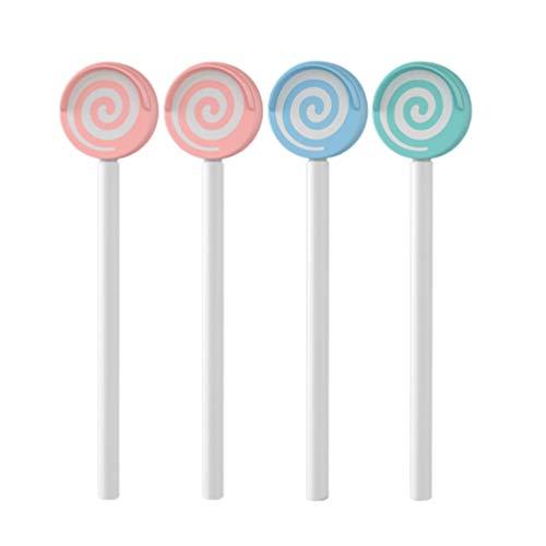 ULTNICE 4Pcs Zungenschaber Zungenreiniger Zungenplaque Entferner Zungenbürste für Baby Kinder Erwachsene Gesunde Mundpflege (Blau + Grün + Pink)