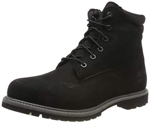 Timberland Damen Waterville 6 Inch Basic Waterproof Stiefel, Schwarz (Black), 38 EU