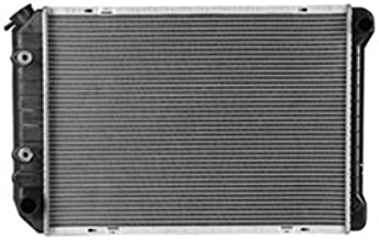 New Radiator For 1982-1993 Ford Mustang GT, 1980-1993 Ford Mustang and 1984-1992 Lincoln Mark VII, Except Heavy Duty Cooling, Plastic and Aluminum FO3010189