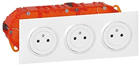 as Schwabe 60437 Multiprise 2 prises CEE avec 1 prise courant fort 16 A 400 V