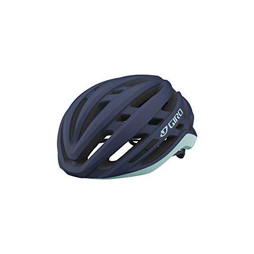 Giro Agilis MIPS W Womens Road Cycling Helmet - Small (51-55 cm), Matte Midnight/Cool Breeze (2021)