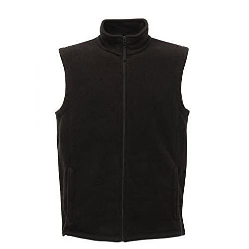 Regatta Mens Micro Fleece Bodywarmer Gilet XXL Black