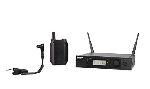 Shure GLXD14R/B98-Z2 Instrument Wireless Microphone System With Beta98H/C
