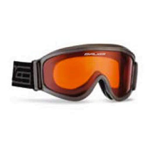 Salice Skibrille Snowboard 985DA Unisex, schwarz/anthrazit/grau