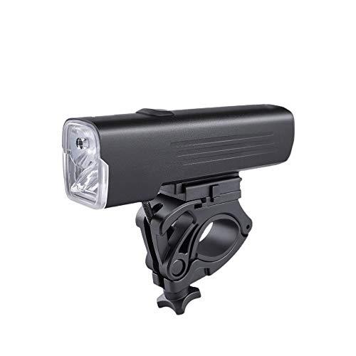 Dabeigouztoud linterna frontal, Luz de bicicleta LED, puede instalar la luz de la bicicleta en unos segundos sin herramientas, adecuado para: montaña, calle, bicicleta, iluminación frontal y trasera