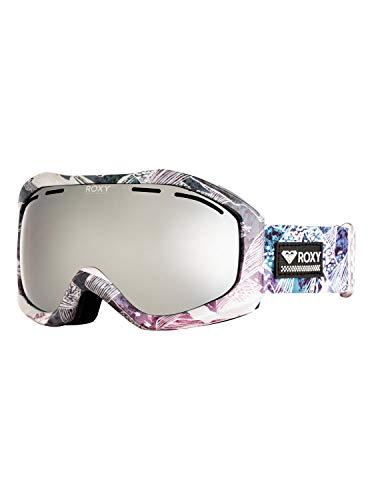 Roxy Damen Snowboard-/skibrille , bright white mysterious view, 1SZ, ERJTG03107