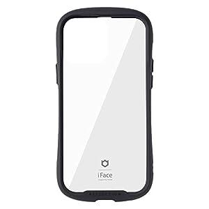 "iFace Reflection iPhone 13 Pro Max ケース クリア 強化ガラス iPhone 2021 6.7inch [ブラック]"""