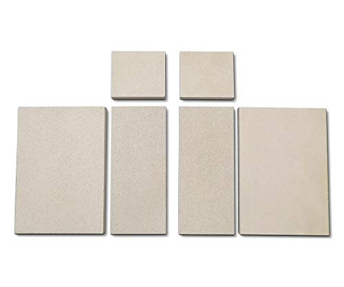 Feuerraumauskleidung für Faber Inga Kaminöfen - Vermiculite - 6-teilig