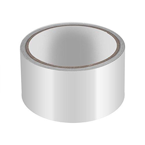 Aluminiumfolie Dichtband Isolierband Hitzeschild Klebeband Sealing Band Thermische Resist Duct Reparaturen Werkzeug 5 cm x 10 m