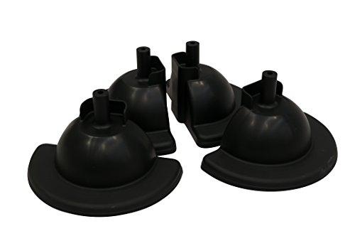 Rubbermaid Commerciële Producten Stevige Baby Stoel Vervangende Voeten (Set van 4)