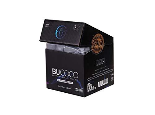 Carbón natural para cachimbas fabricado por Bucoco Oduman