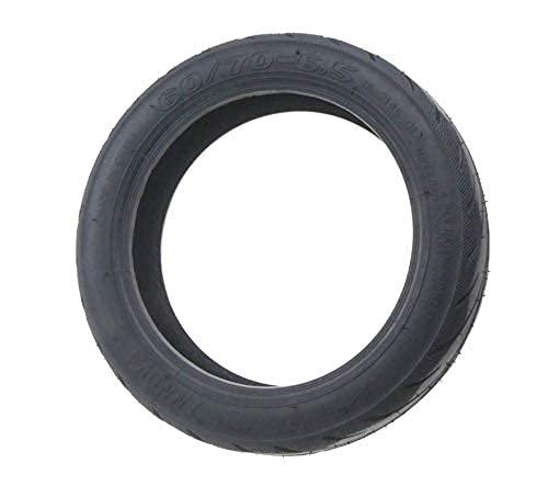 Fututech - Neumático de goma al vacío 60/70-6.5 con válvula de inflado...