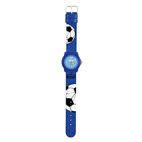 SCOUT Jungen Analog Quarz Uhr mit PU Armband 280305030