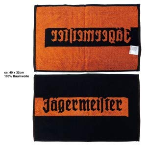 Jägermeister Handtuch Barhandtuch ca. 49x32cm