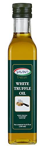 SAVINO TARTUFI White Truffle Oil 8.45 Oz - Extra Virgin...