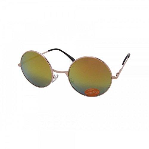 Emeco John Lennon PV8009MIX Style Seraph Matrix - Gafas de sol con efecto espejo