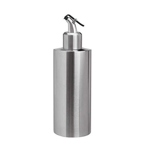 DIYARTS - Dispensador de aceite y vinagre de 550 ml de acero inoxidable rociadores de aceite de cocina para almacenar aceite comestible, salsa de soja, vinagre, etc. (B#)