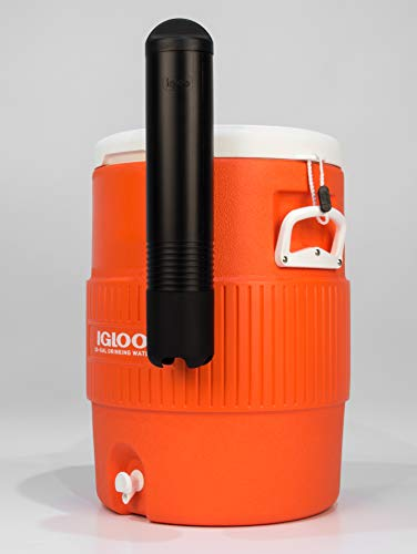 Igloo 10 Gal Orange Seat Top Cooler w/Cup Dispense