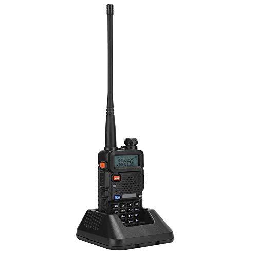 ANGGREK BF-UV5R 8W Car Walkie Talkie Dual Band Radio bidirezionale Ricaricabile con Base di Ricarica(Unione Europea)