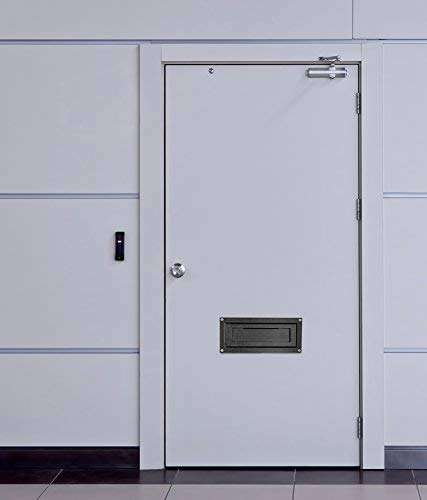 AdirOffice AdirOffice Door Drop Box - Through-The-Door Safe Locking Drop Box - Door Mail Slot (Black) Photo #2