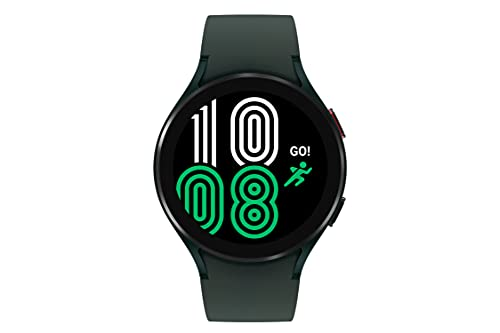 SAMSUNG Galaxy Watch 4 44mm Smartwatch with ECG Monitor Tracker for Health Fitness Running Sleep Cycles GPS Fall Detection Bluetooth US Version, Green