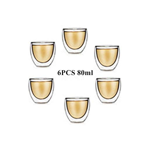 ADSIKOOJF Dubbele Muur Glazen Theekop Hittebestendige Koffiemok Gezond Creatief Geschenk Drinkware 80 250 350 450ml