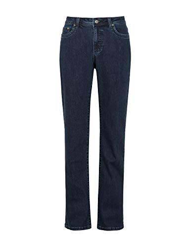Million X Damen Jeans New Linda Basic W42 L30, Dark Blue