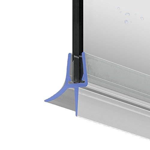 70cm M22 - Ersatzdichtung für 5mm/6mm/ 7mm/ 8mm Glasdicke Wasserabweiser Duschdichtung Schwallschutz Duschkabine