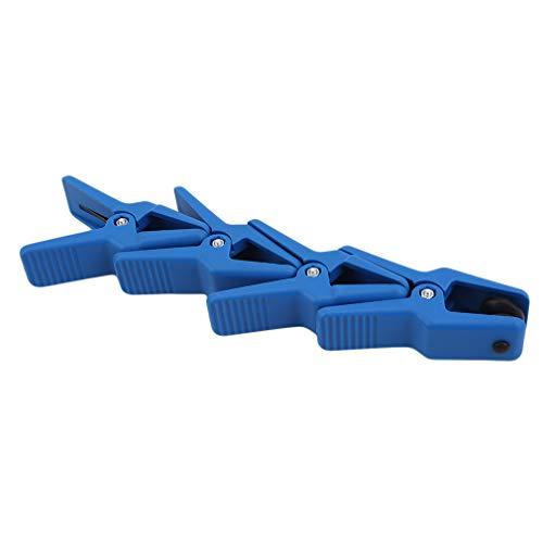 Kaned 4-TLG. Bremsschlauchschellen-Set für Bremsschläuche Gasleitung Kühlmittelschläuche Professionelle Autoreparaturwerkzeuge