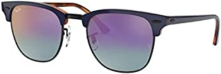 Ray-Ban CLUBMASTER RB 3016 BLUE/BLUE VIOLET SHADED 49/21/140 men Sunglasses