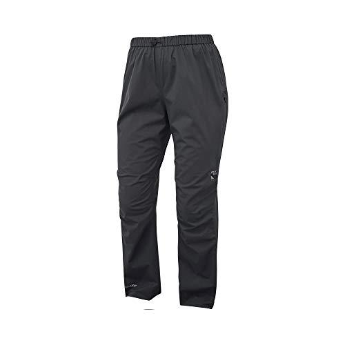 Sprayway - Pantalón de lluvia para mujer, color negro, 12