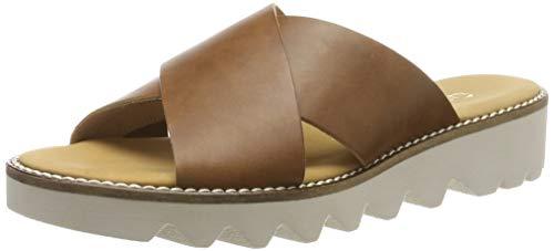 Gabor Shoes Damen Comfort Sport Riemchensandalen, Braun (Peanut 54), 38 EU