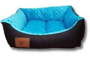 Odolplusz Cama para perros y gatos, 50 x 40 cm, color azul
