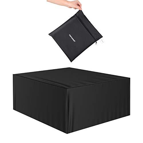 Homezest Funda para Muebles de Jardín, Copertura Impermeable y Anti-UV 420D Oxford Fundas de Muebles