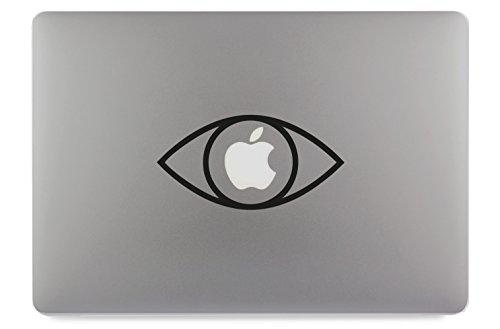 Oogje van de voorzie alziend oog Illuminati Freimaurer sticker skin decal sticker geschikt voor Apple MacBook en alle andere laptops en notebooks, 11