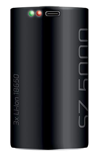 SEAC Batería Recargable para Linterna de Buceo SZ5000, Unisex-Adult, Negro, One Size