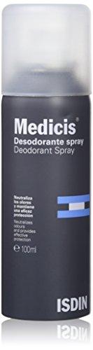 ISDIN Medicis Desodorante Spray - 100 ml.