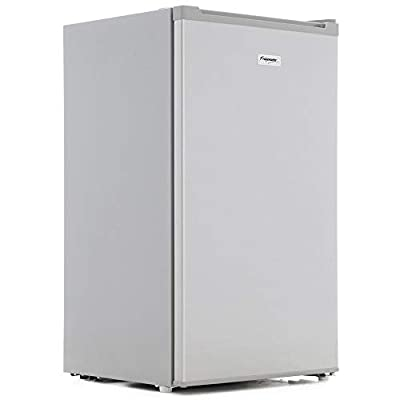 Fridgemaster MUR4892S 48cm Wide Freestanding Under Counter Fridge With Ice Box - Silver