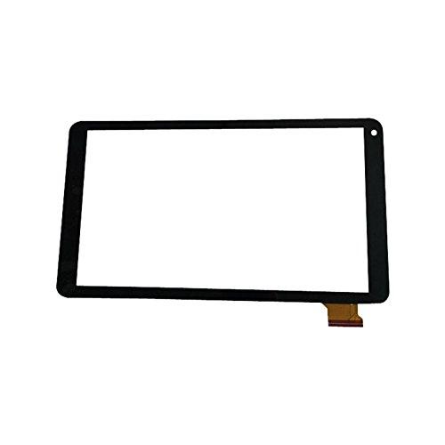 EUTOPING ® Schwarz Farbe 10.1 Zoll Touchscreen - digitizer Alternative für i.onik L1001
