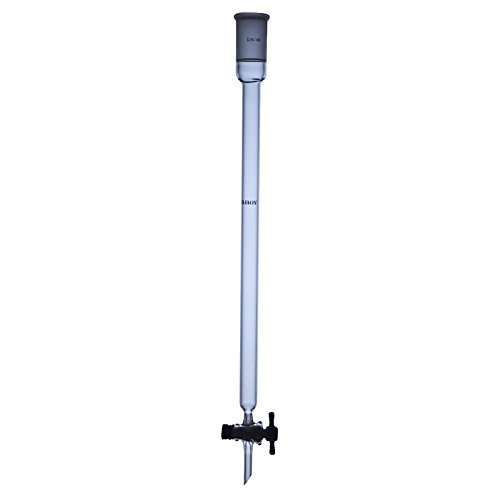 Laboy HMC020301 Glass Excellent Chromatography Column PTFE 24 Free Shipping Cheap Bargain Gift Stop with 40