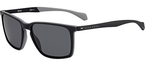 Hugo Boss Gafas de Sol BOSS 1114/S BLACK/GREY 57/18/145 hombre